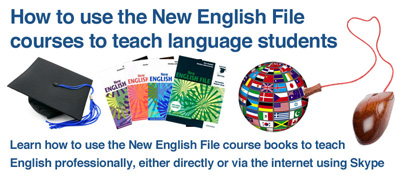 New English File course for teachers